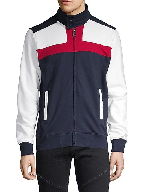 7788c07f58ef BEN SHERMAN UNION COLORBLOCK TRACK JACKET.  bensherman  cloth