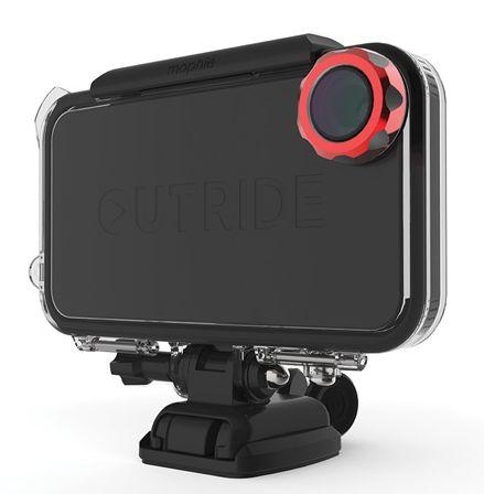 [아이폰 액세서리 추천 - CES 2013 혁신상 포터블 미디어 플레이어 & 액세서리 : 아이폰을 170도 광각 액션캠으로 변신하게 해주는 outride 소개]