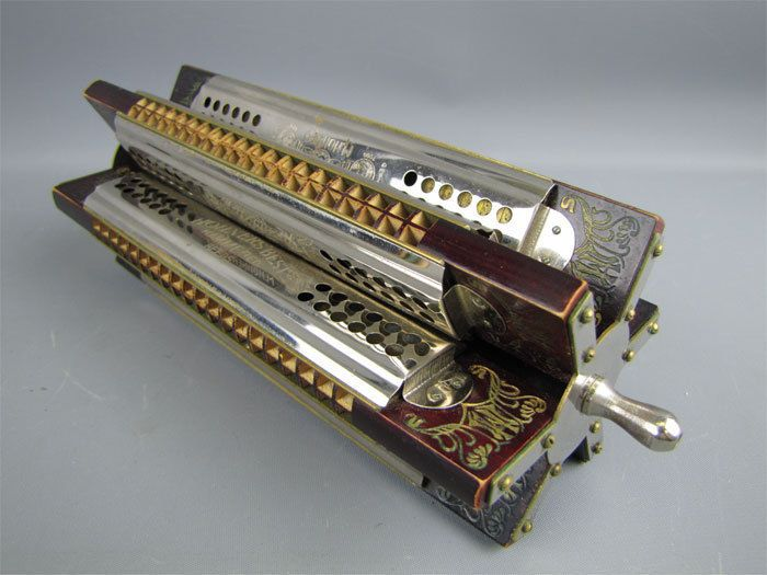 harmonica trémolo multiple