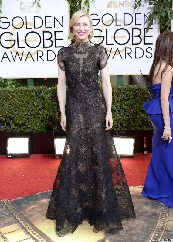Cate Blanchett in Armani Prive at GoldenGlobes2014