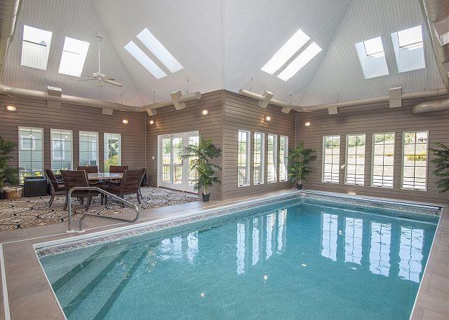 Private Indoor Pool Serenity Now This Deep Creek Lake