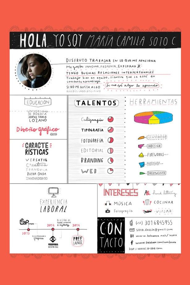 Funny Format  Get Your Dream Job With These Creative Ideas To Make Your CV Awesome • Page 2 of 5 • BoredBug
