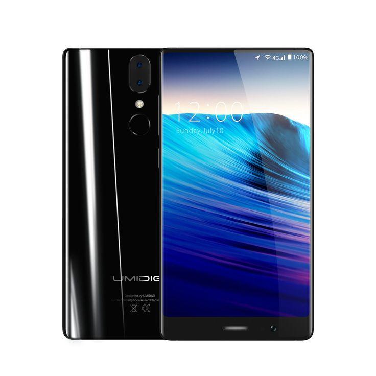 UMIDIGI Crystal 5.5 inch 4GB RAM 64GB ROM MTK6750T Octa core 4G Smartphone…