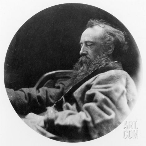 Portrait of George Frederick Watts Photographic Print by Julia Margaret Cameron at Art.com
