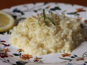 Risoto de Limão Siciliano | Gordelícias