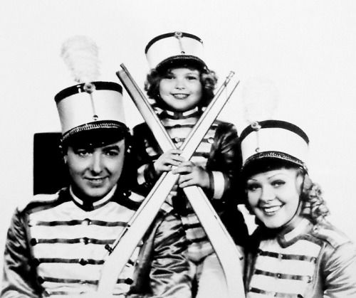 Jack Haley, Shirley Temple and Alice Faye in Poor Little Rich Girl, 1936.