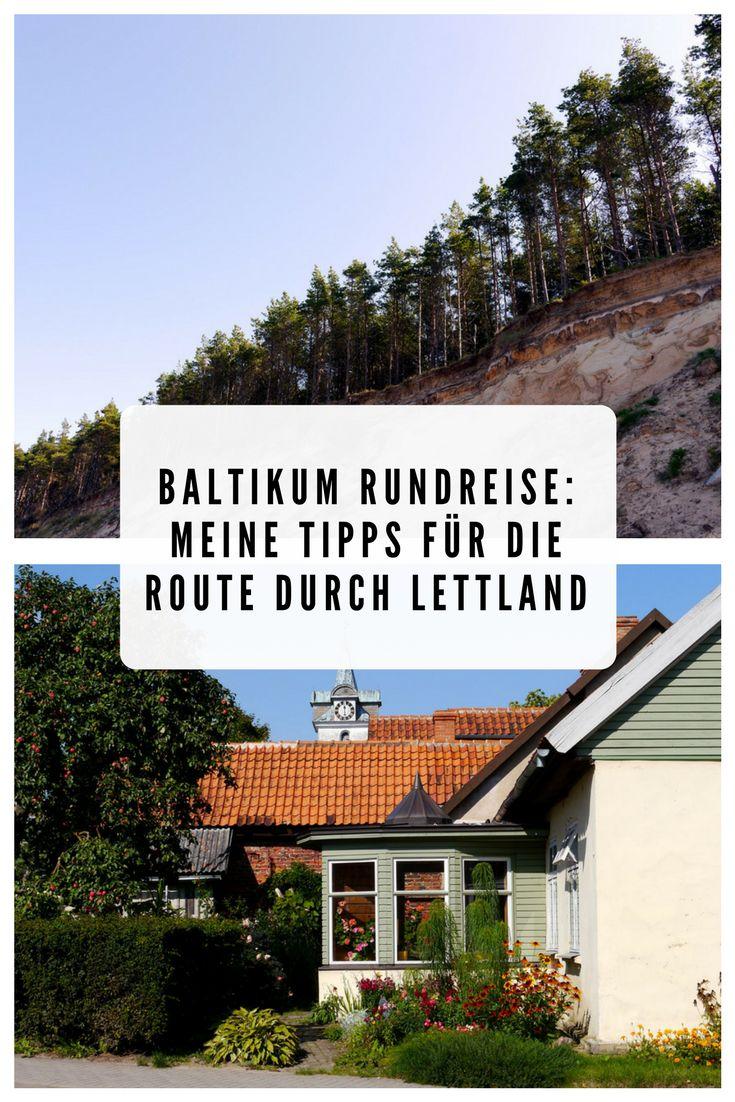 Ist eine Baltikum Rundreise geplant? Meine Tipps für die Route durch Lettland: Jurkalne Steilküste, Kuldiga, Kap Kolka, Riga uvm. Plus Tipps für den Verkehr in Lettland.