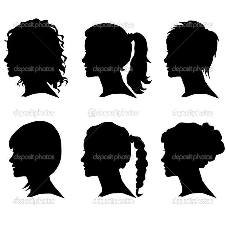 men and women side profile - Google Search