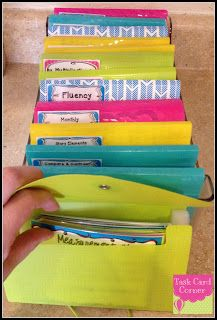 OODLES of task cards and ways to store & organize them!