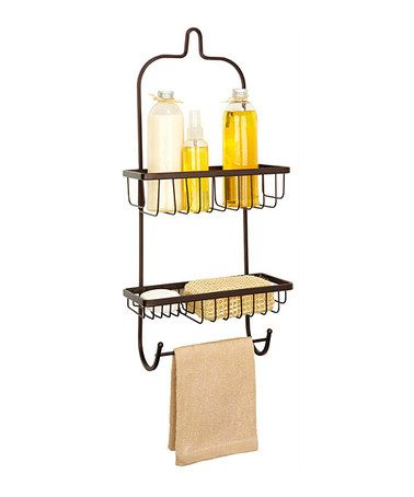 Take a look at this Rust Master Shower Caddy by Kennedy Collection on #zulily today!