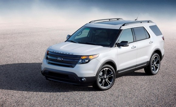 2013 Ford Explorer Sport Picture And Price - Top View