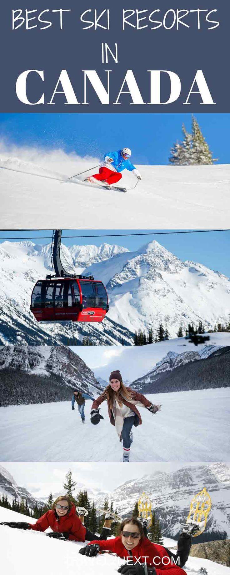 Skiing In Canada Best Ski Resorts In Canada