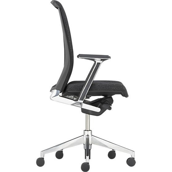 crate and barrel office furniture. plain barrel haworth very charcoal task chair in office chairs  crate and barrel and furniture