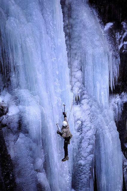 Ice climbing.. I really want to try it.. I have a groupon .. maybe a date?