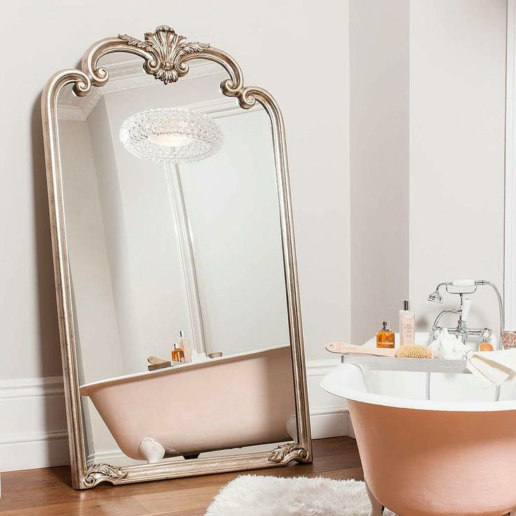 This stunning oversized large floor standing mirror is a for Bedroom wall mirrors for sale
