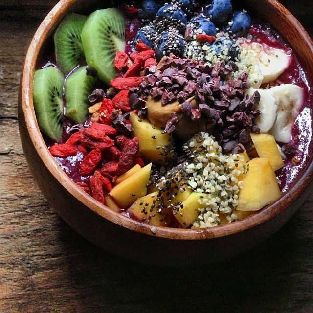 Ever wondered if Acai is healthy for us? Check out my blog to find out! #cleaneating #superfood #acai #travellingdietitian #karalandau