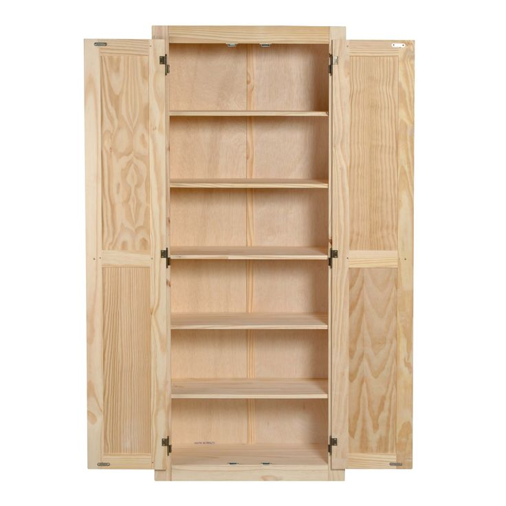 Best Features Unfinished 6 Shelves Three Fixed And Three 400 x 300
