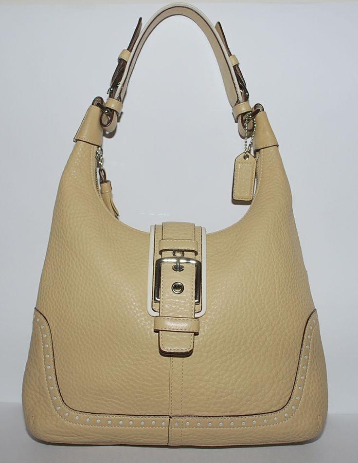 Coach Shoulder Bag Cream 102