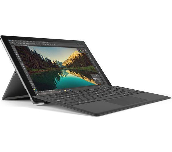 MICROSOFT Surface Pro 4 & Typecover Bundle - 128 GB