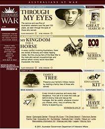 Australians War at War Web Site