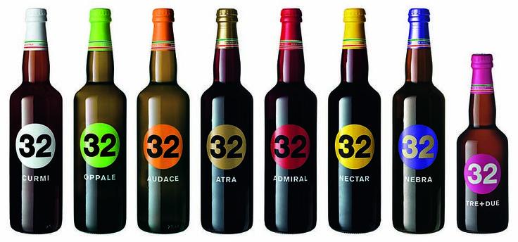 Το όνομά της, ένας αριθμός: 32. Η ιταλικής προέλευσης μπύρα με διεθνή καριέρα, έφτασε και στην Ελλάδα παρουσιάζοντας μια νέα διάσταση στην απόλαυση του δημοφιλούς ζύθου