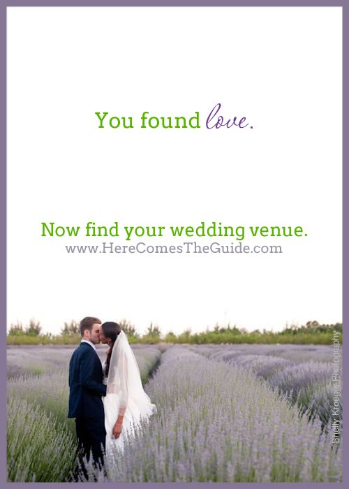 Find gorgeous wedding venues across the U.S., plus pricing info and real weddings on HereComesTheGuide.com.