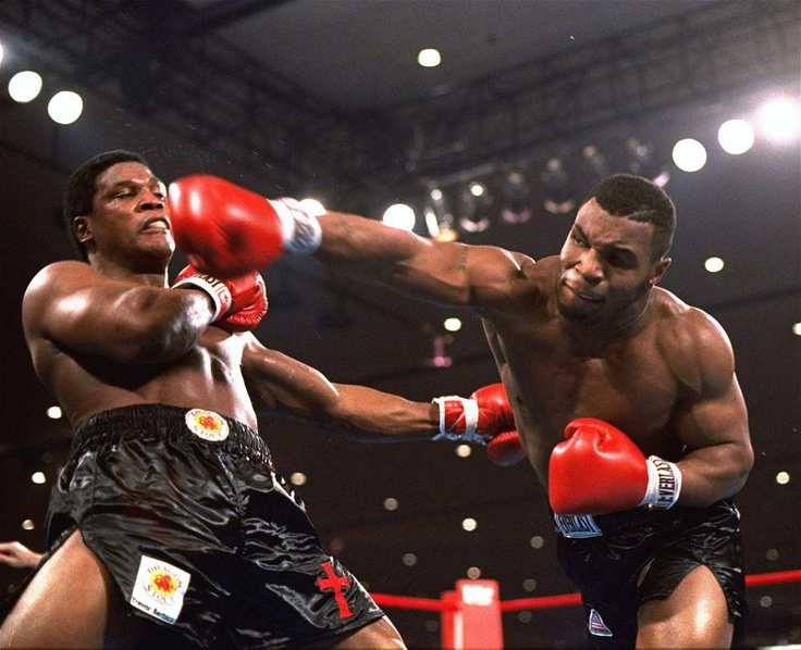 The baddest man on the planet, Iron Mike Tyson