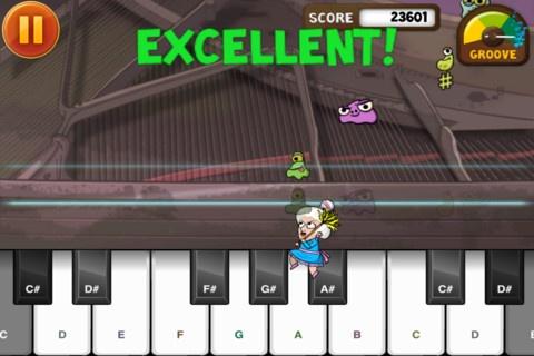 Dust buster er genial. Du hjælper en gammel dame med at feje støvmider væk og samtidig lærer du at spille klaver. Der er en øve funktion og en show funktion. Du bliver bedømt på hvor god du er. Jo bedre du er og jo mere du spiller jo flere melodier kan du få adgang til. Pas på det er vanedannende.  Jeg har prøvet det i en 1. klasse og alle kunne efter timen spille en sang på klaver appen.