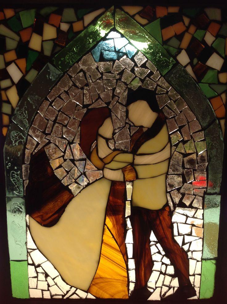 Esküvőre mozaik