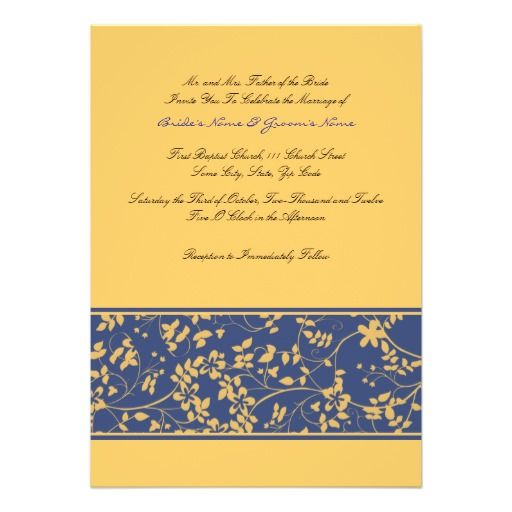 96 Best Images About Navy Blue + Yellow Wedding On