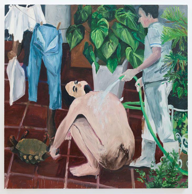 clothes lines, 2012 oil on canvas Eduardo Berliner