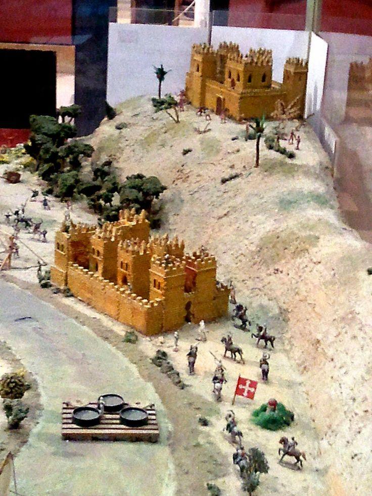 Leyendas de Sevilla: Museo Histórico Militar de Sevilla, -III. La planta sótano. Zona central.