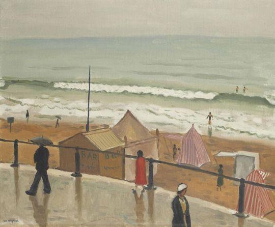 Albert Marquet (1875-1947) Les Sables-d'Olonne, temps de pluie