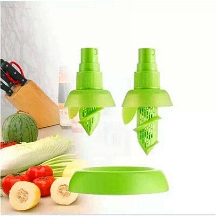 1.37$ (Buy here: http://alipromo.com/redirect/product/olggsvsyvirrjo72hvdqvl2ak2td7iz7/32698222437/en ) 2Pcs/set Creative Lemon Sprayer Fruit Juice Citrus Lime Juicer Spritzer Kitchen Gadgets Spray Fresh Fruit Juice Random Color for just 1.37$