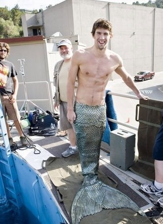 Proof Michael Phelps has secretly been half-fish this whole time! We finally see him as his true self...