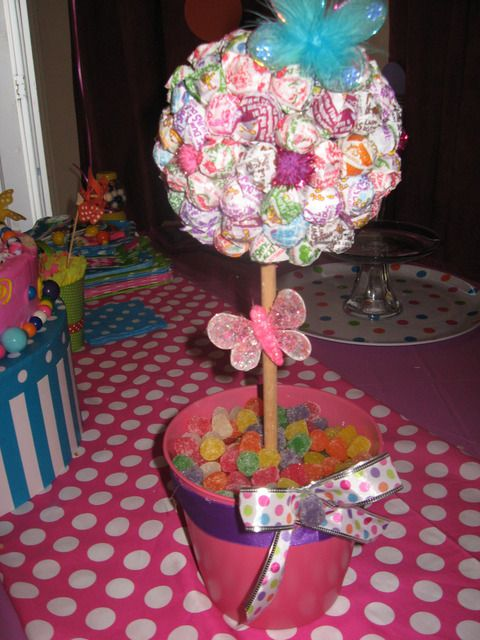 dumdum sucker centerpiece