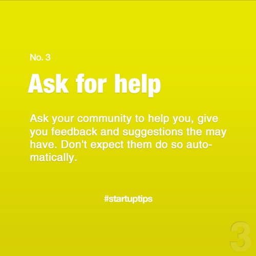 Start-Up Tips no. 3