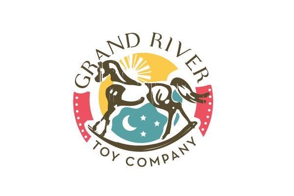 Horse Logo Design - Grand River Toy Company