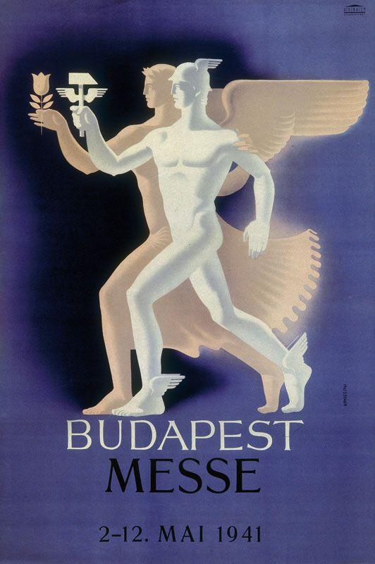 Budapest - Messe - 1941 - (Györgi Konecsni) -