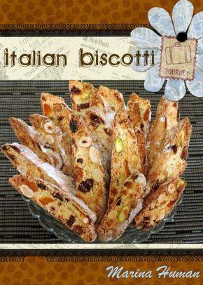 """Бискотти (biscotti) - это рождественские печенья, которые пекут к празднику в Италии. Бискотти в переводе с итальянского означает """"приготовленные дважды"""". Для…"""