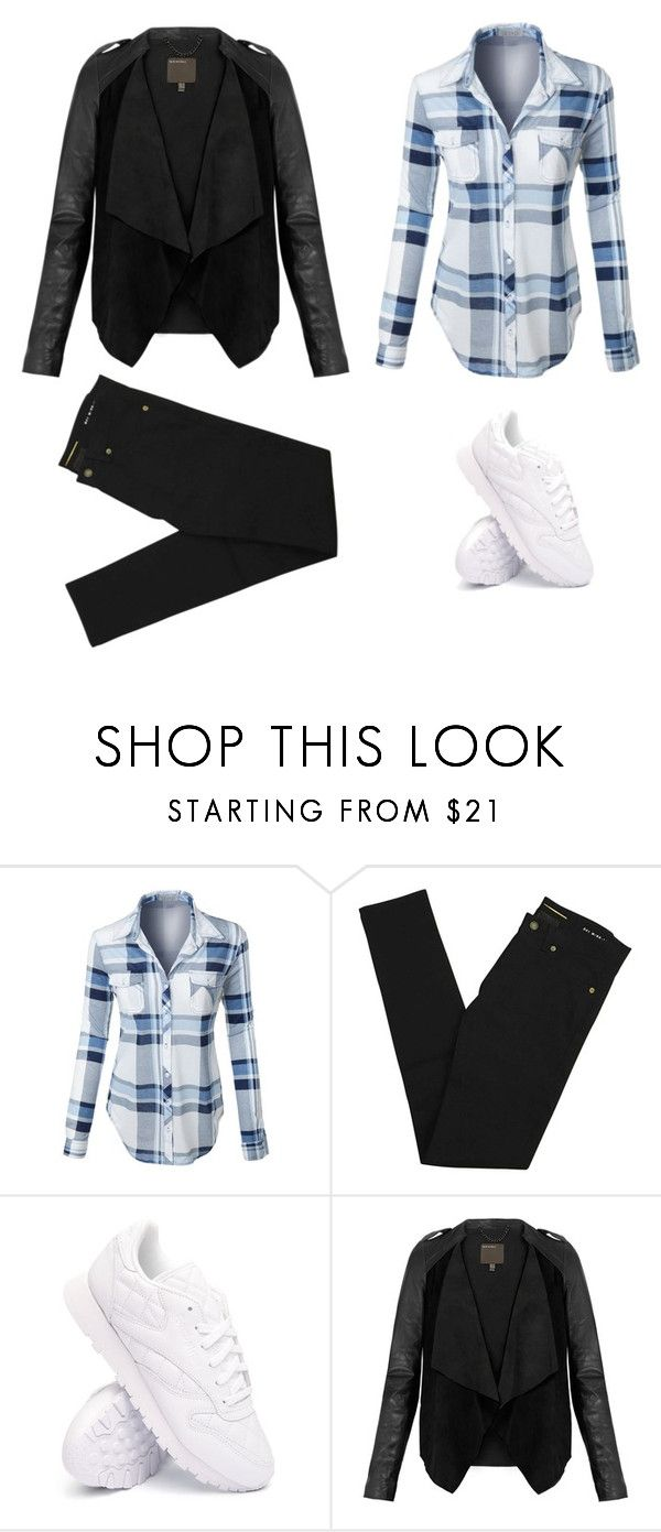 """Free time"" by monika1555 on Polyvore featuring LE3NO, Yves Saint Laurent, Reebok and MuuBaa"