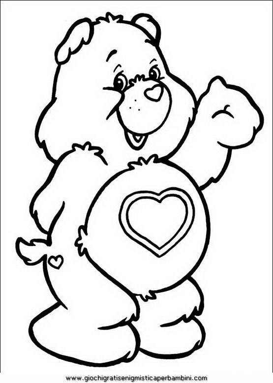orsetti_del_cuore_a45 Disegni da colorare per bambini
