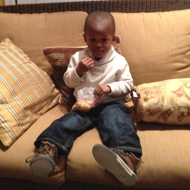 My first born in a Gap sweater and jeans and shoes from Zara: Gap Sweaters, A Mini-Saia Jeans, Sweaters And Jeans