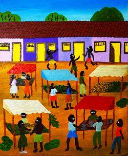 Roberto Ribeiro Naif Art: Feira do Grande Terceiro