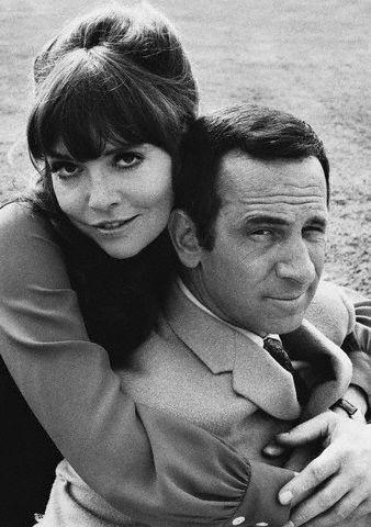 Barbara Feldon- Agent 99 and Don Adams - Maxwell Smart/Agent 86   Get Smart 1968