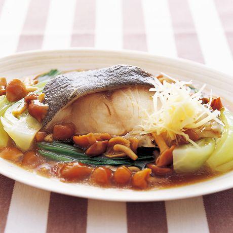 白身魚のなめこ蒸し | 広沢京子さんの煮魚の料理レシピ | プロの簡単料理レシピはレタスクラブネット