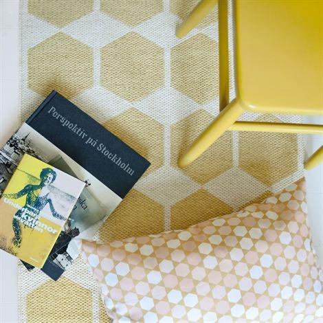 Anna rug yellow from Brita Sweden