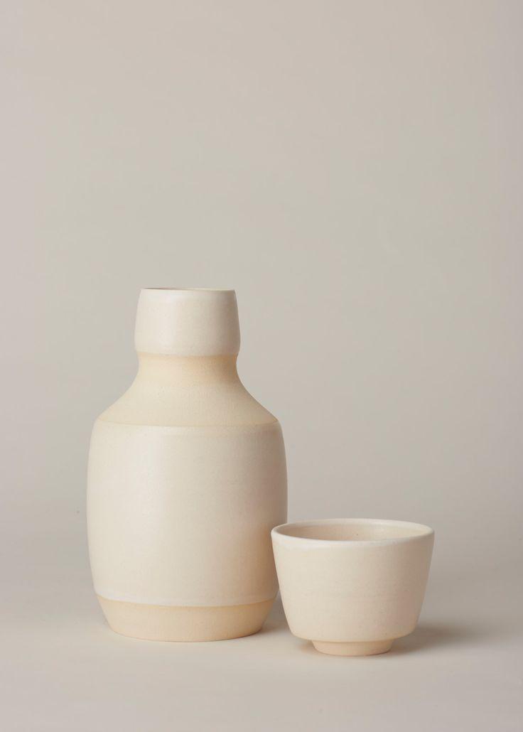 Kati Von Lehman Bedside Carafe Set (White)