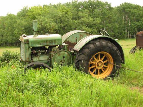 Old John Deere tractors.John Deere Model D