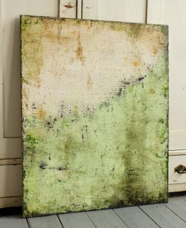 "Saatchi Art Artist Christian Hetzel; Painting, ""fresh green"" #art"